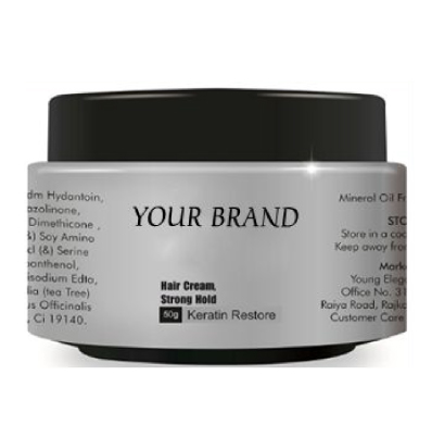 Private Label Strong Hold Hair Cream Manufacturer