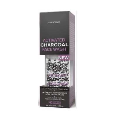 Private Label Charcoal Beads Face Wash Manufacturer